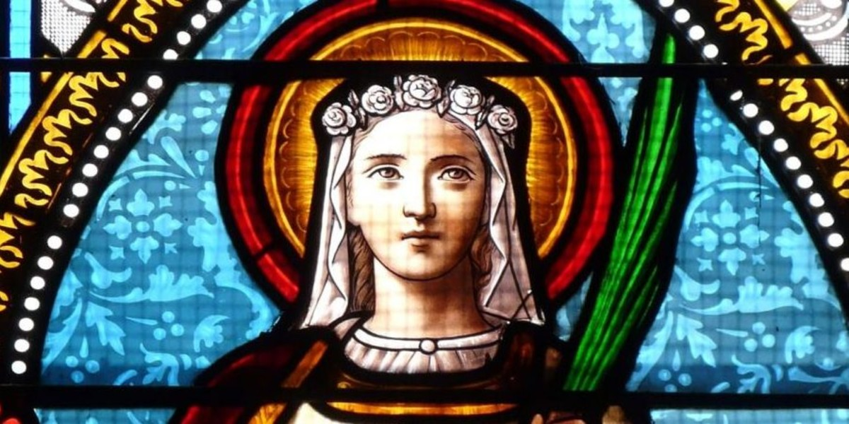 Saint Lucy & the Radiance of Virginity – Ambrose