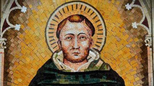 st. thomas aquinas january 28 feast cross passion sufferings Jesus Christ exemplifies every virtue
