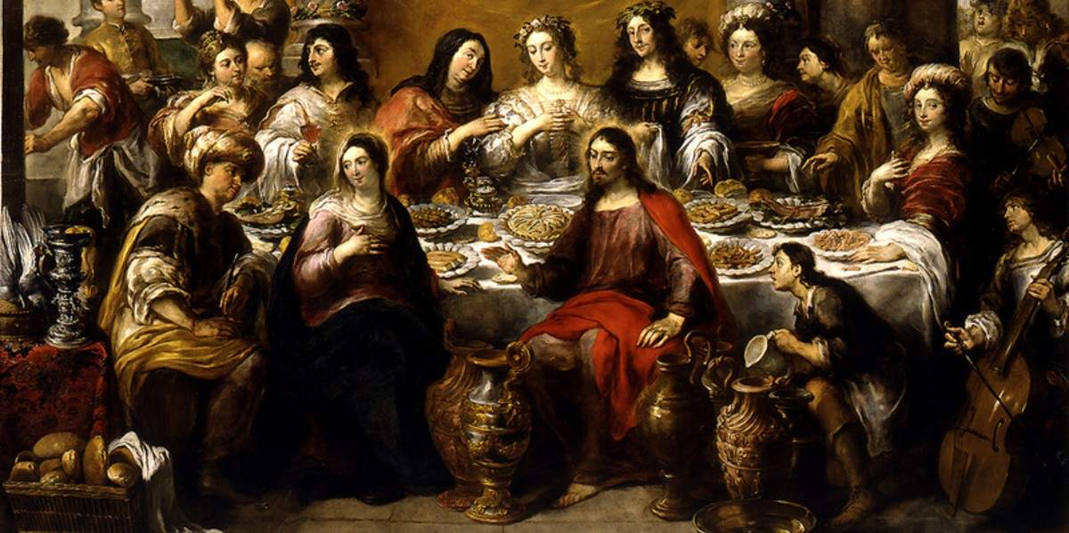 wedding feast cana transformation miracle jesus water wine