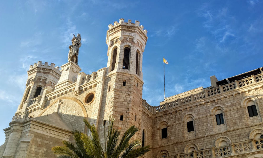 Notre Damn Institute Jerusalem Holy Land catholic tour Spring Pilgrimage 2021 Page Image 2