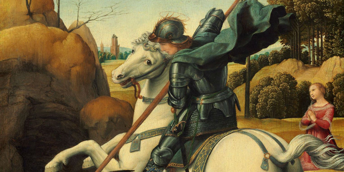 st. george dragon martyr april 23 Peter Damian facebook