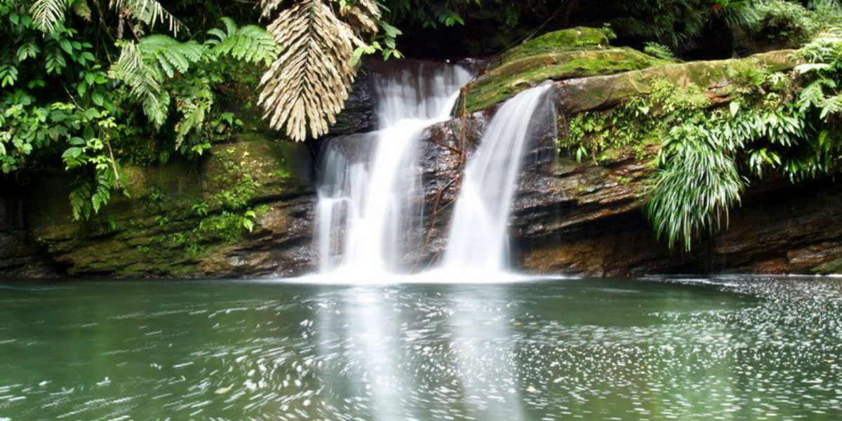 jungle waterfall baptism makes us temples of god facebook