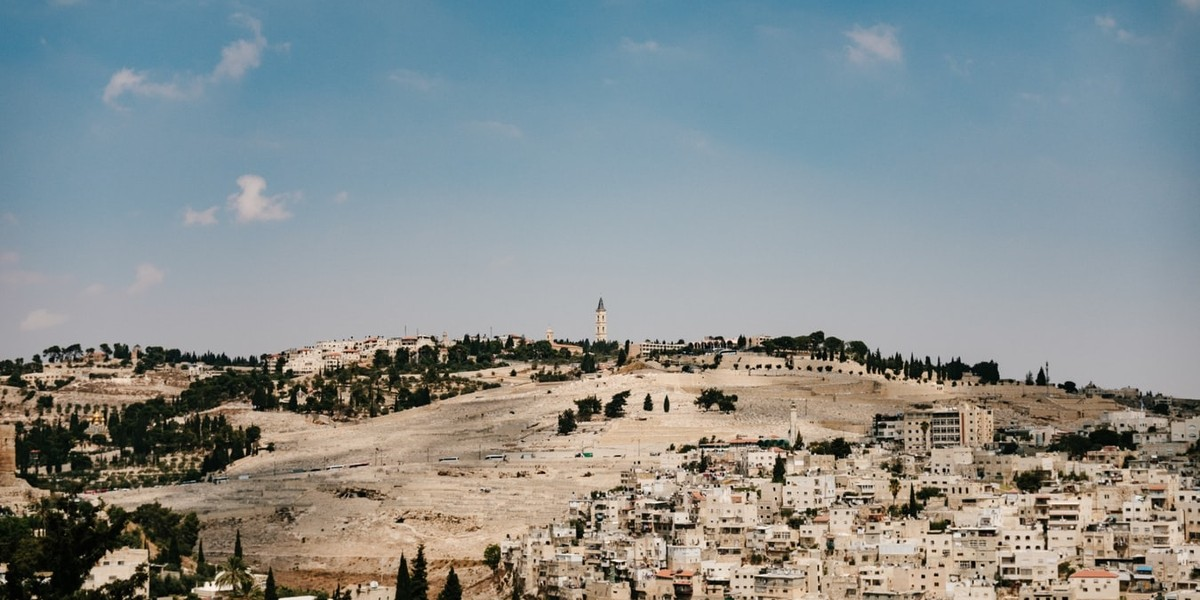 mount of olives Bethany podcast facebook lazarus