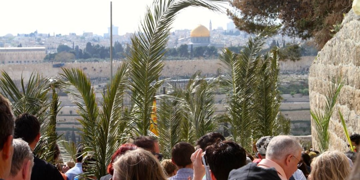 Mount of Olives and the Palm Sunday Road – Podcast