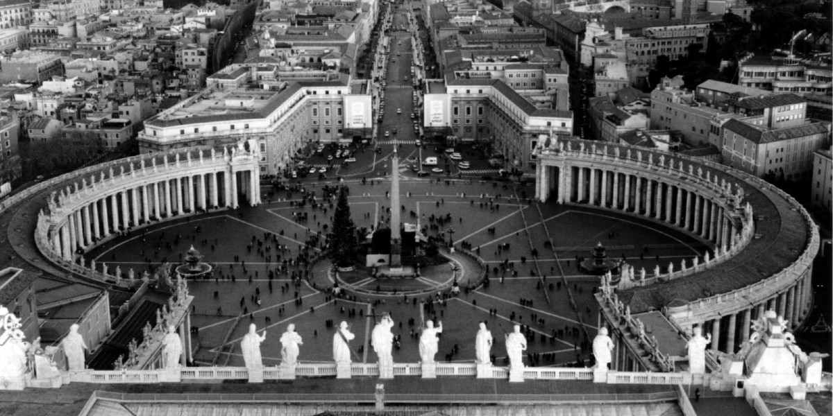 the vatican rooftops monochrome Kim Werker freeimages