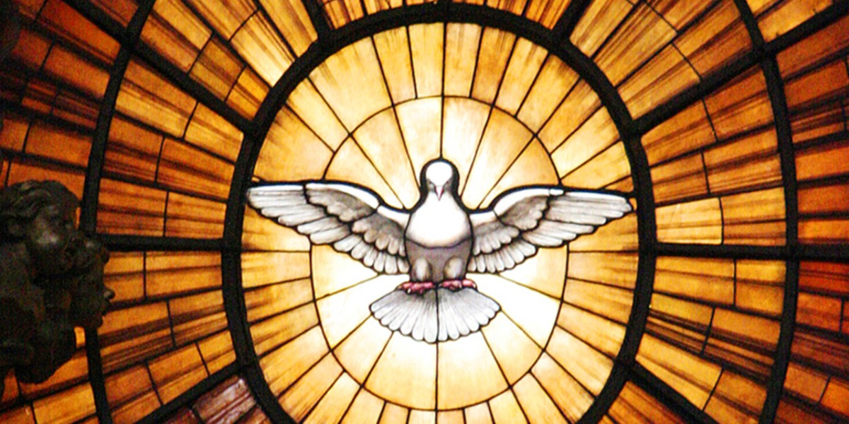 holy spirit, trinity, promise father gifts unwrap
