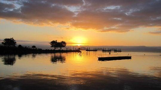 Crossing Sea of Galilee