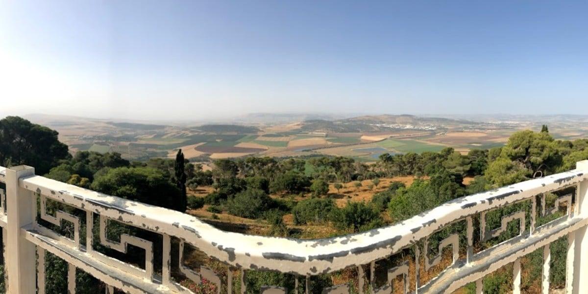 mount mt. tabor transfiguration Jesus mountain view