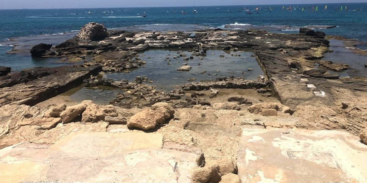 Caesarea Maritima acquaduct Herod's Mediterranean jewel