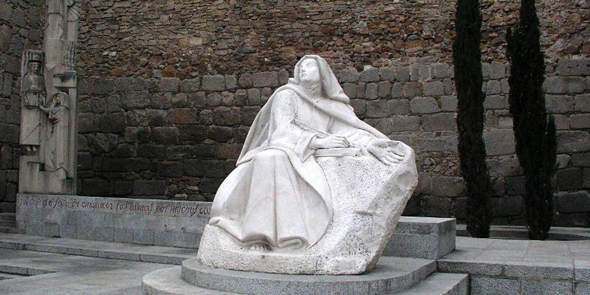 St. saint teresa avila friendship with Jesus contemplation contemplative prayer humanity Christ friend saints love October 15