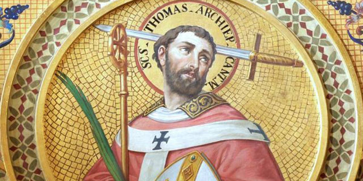 St. Thomas a Becket December 29 Winning win the crown effort religious liberty freedom rights