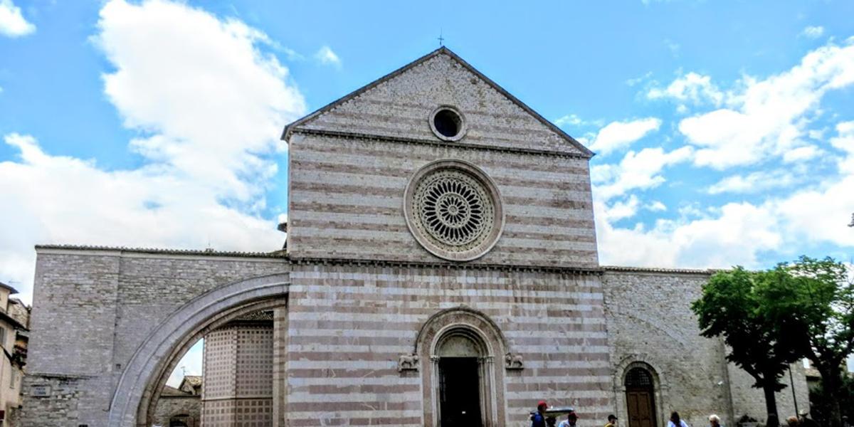 basilica of san francesco basilica of santa chiara