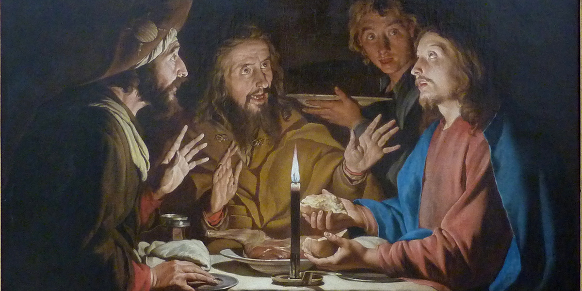 ascension resurrection road emmaus leo the great humanity dignity exalted