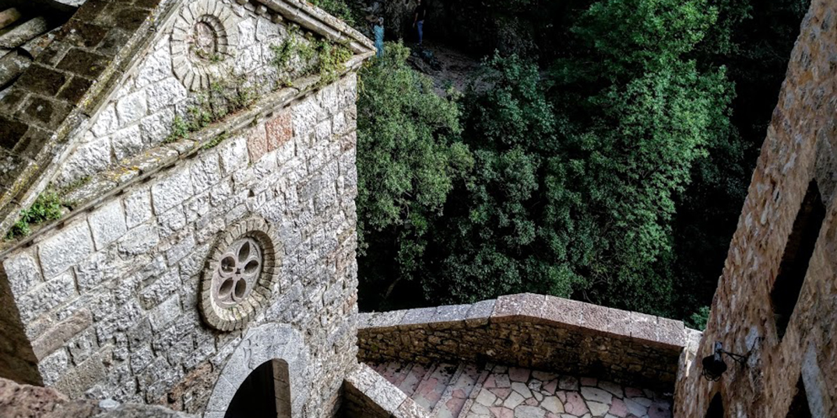 carceri hermitage st. francis assisi mount mt. subasio eremo